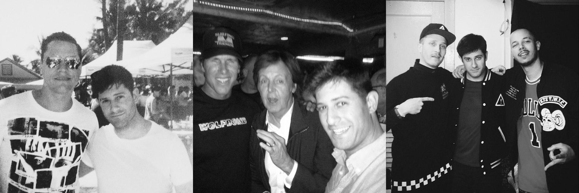 Tiesto, Paul McCartney, and Flosstradamus