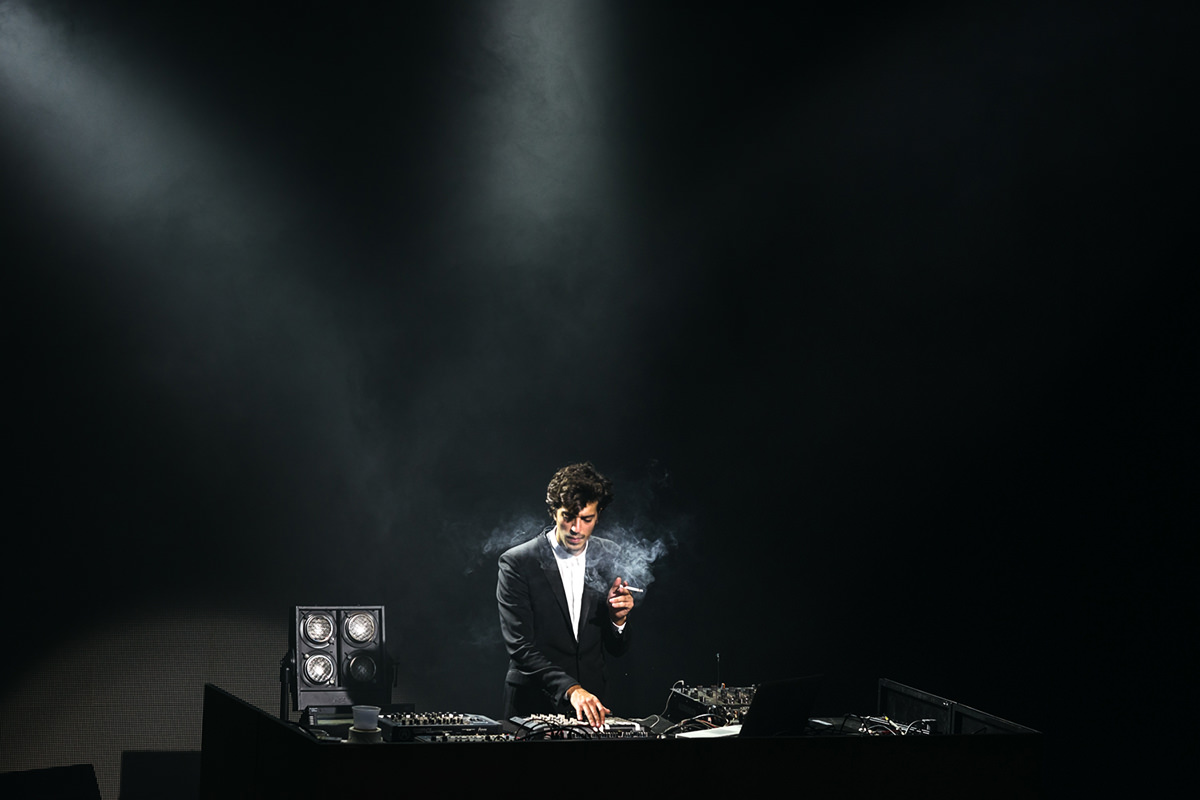 New York City based photographer specializing in live music and portrait photography. Gesaffelstein performs live at Terminal 5 on November 6th, 2014