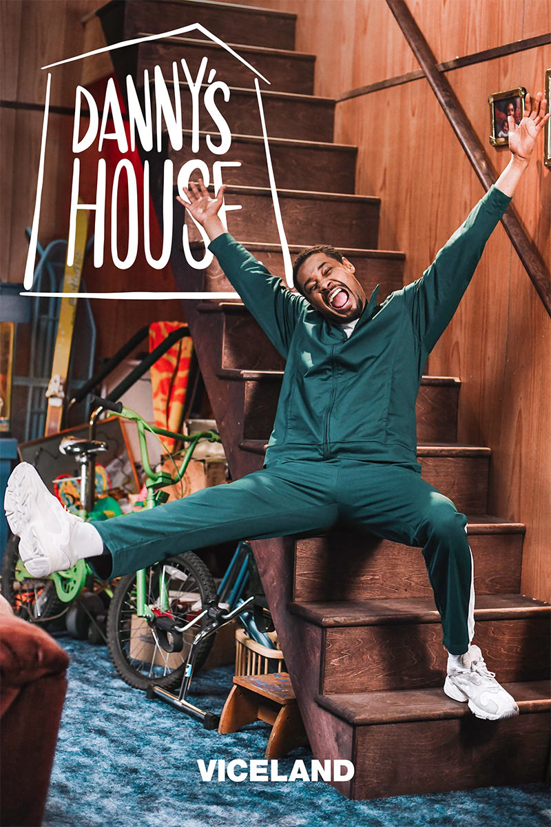 Danny's House Key Art for Viceland featuring Danny Brown
